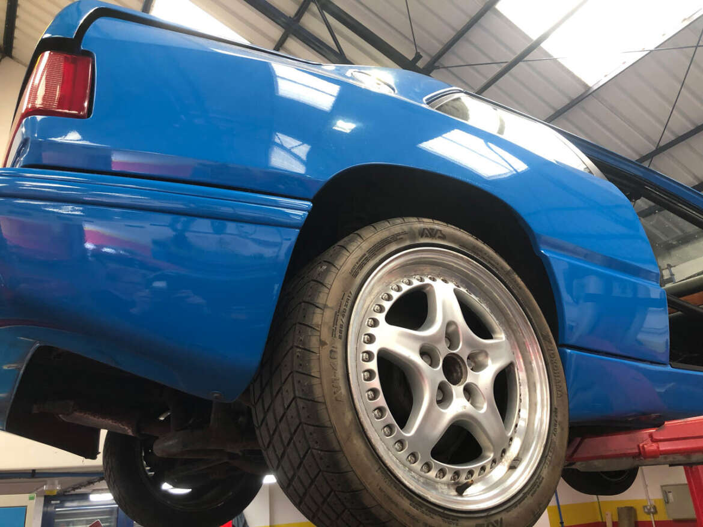 Maserati 3 in Frech Blue