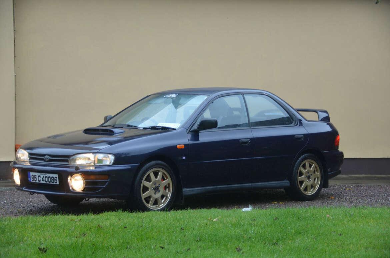 Rare Subaru Imprezas Series McRae