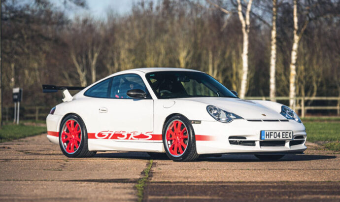 996 GT3 RS front photo.