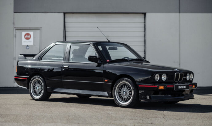 A rare BMW M3 being sold at auction in the US
